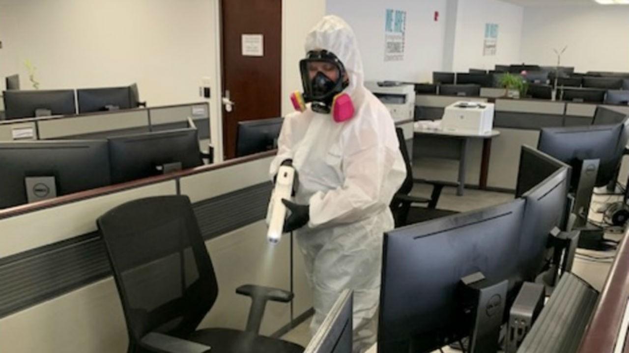 Coronavirus Cleaning Huntington Beach, CA